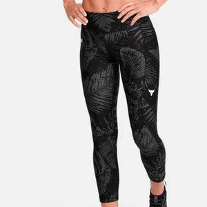 Under Armour Project Rock Printed Ankle Crop NWT